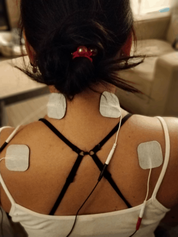 TENS unit for neck pain