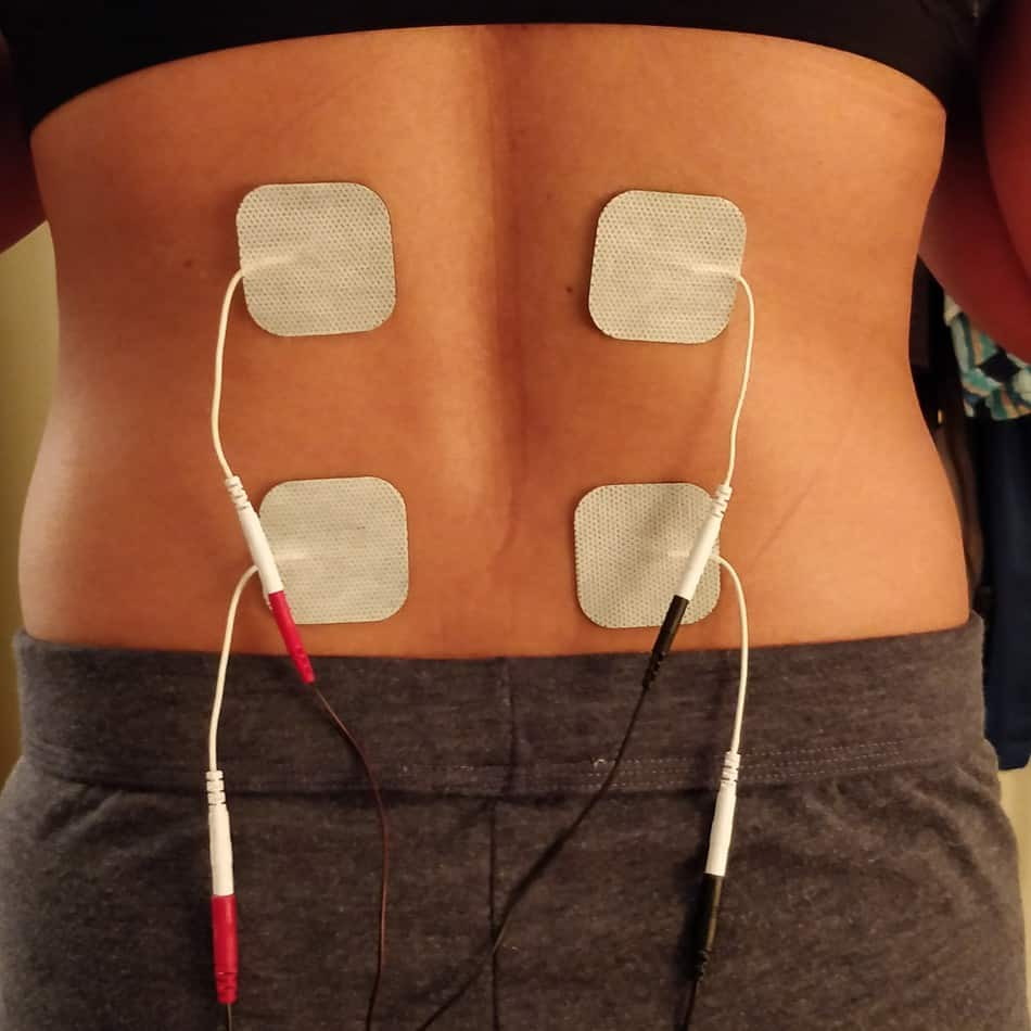 tens unit placement for herniated disc