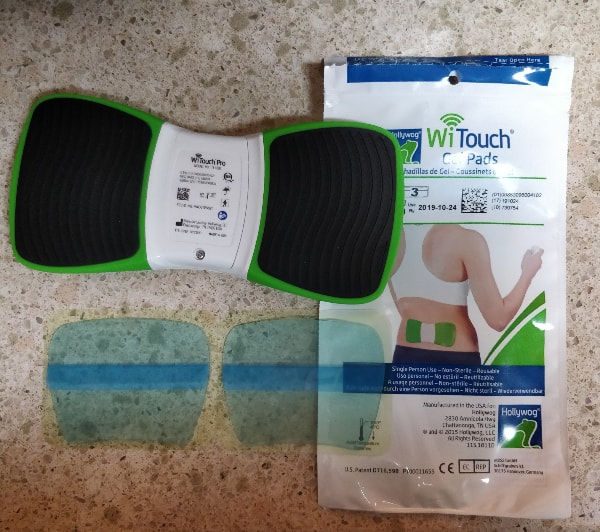 Witouch pro gel pads