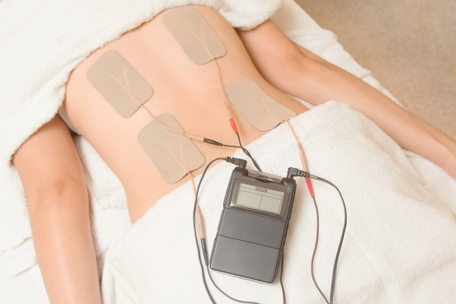 TENS unit while sleeping