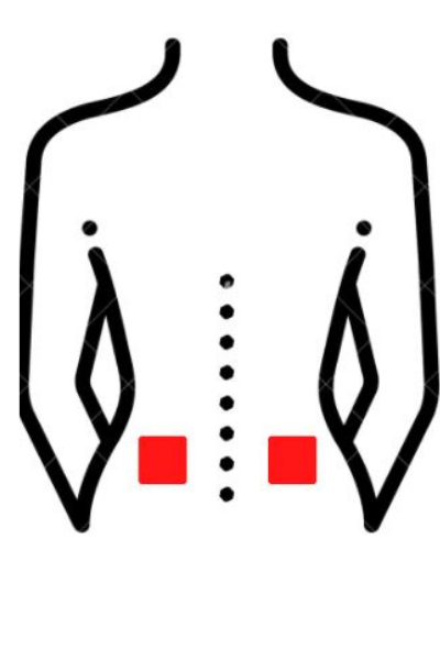 TENS Placement for hip pain